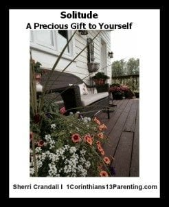Solitude, A Precious Gift to Yourself